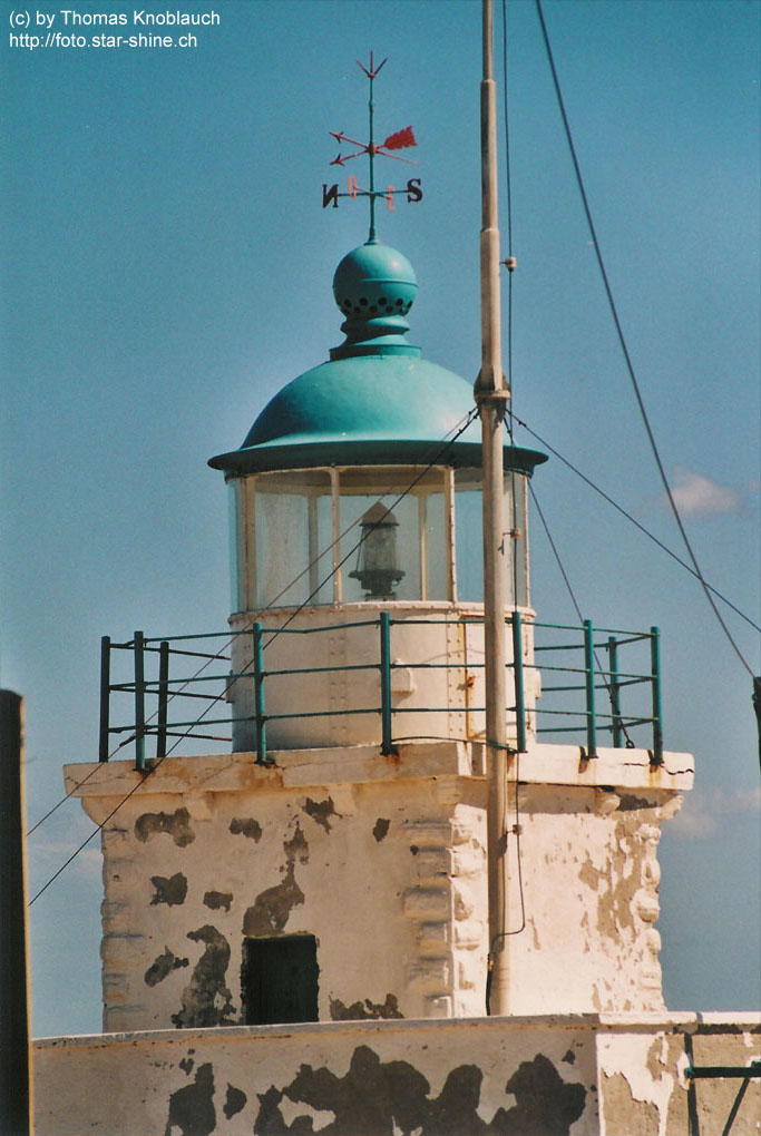 Lighthouse near Kato Sunio, Greece